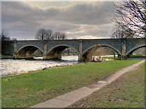 NT2540 : Tweed Bridge, Peebles by David Dixon