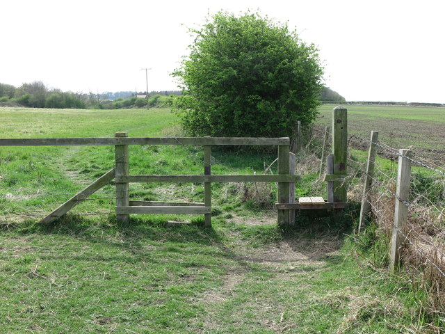 Stile near the Beehive Inn, Whitley Bay