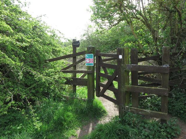 Kissing Gate near the Beehive Inn, Whitley Bay