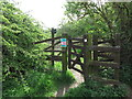NZ3273 : Kissing Gate near the Beehive Inn, Whitley Bay by Geoff Holland
