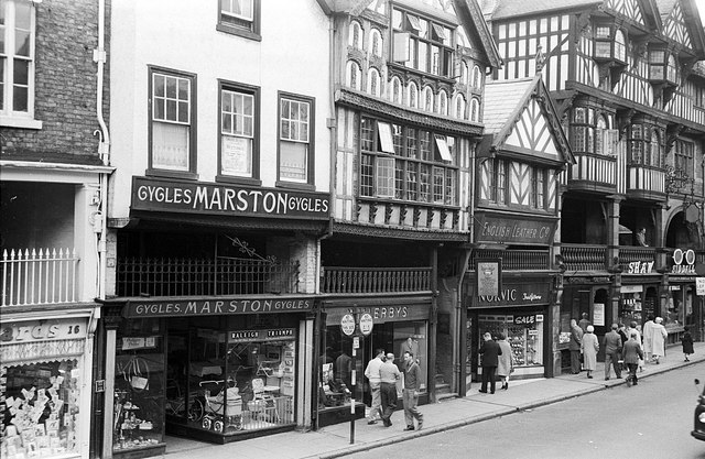 The Rows, Chester, 1960