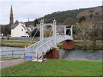NT2540 : Priorsford Bridge, Peebles by David Dixon