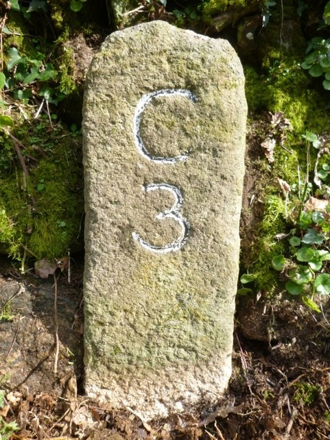 Old Milestone south of Haylands