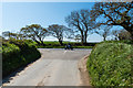 SW9149 : Road junction near Grampound Road by Mike Lyne