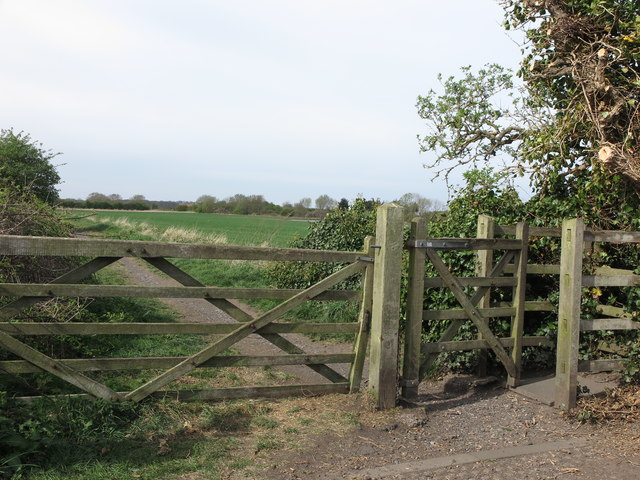 Kissing Gate at Beaumont Park Housing Estate, Whitley Bay