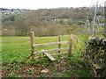 SE1124 : Stile on Brighouse Footpath 32, Southowram by Humphrey Bolton