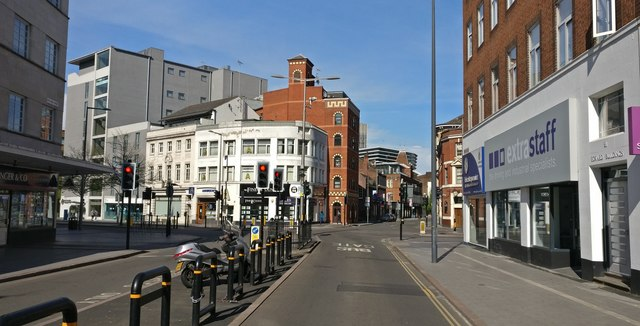 Rutland Street in Leicester city centre
