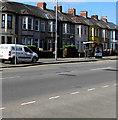 ST3089 : Miller white van, Malpas Road, Crindau, Newport by Jaggery