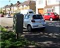 ST3190 : Royal Mail drop box, Brynglas Avenue, Newport by Jaggery