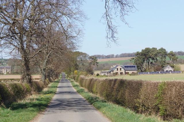 Road at Cappuck