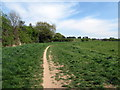 SO9673 : Start of footpath off Milton Road Catshill by Roy Hughes