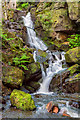 SK3160 : Lumsdale Waterfall Lower by Mike Lyne