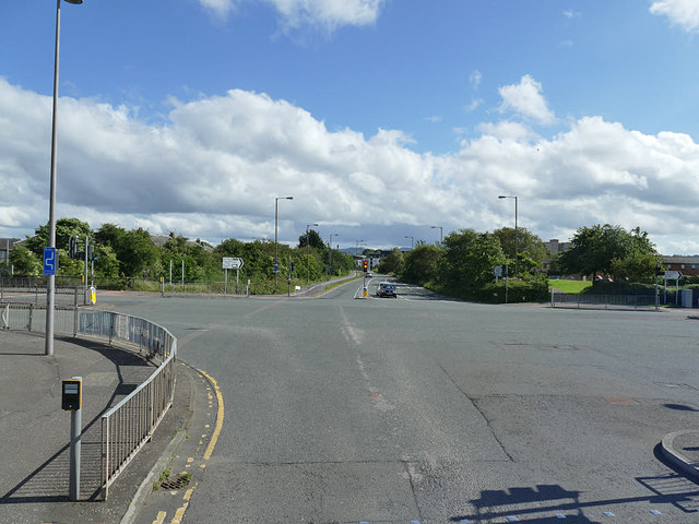 Junction of Waterfront Broadway and West Granton Road