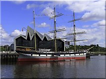 NS5565 : Glenlee on the River Clyde by Steve Daniels