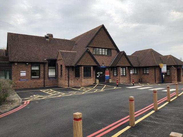 The old Cottage Hospital