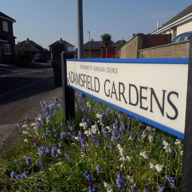 Ensbury Park: Adamsfield Gardens