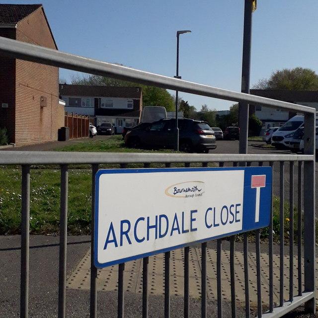 Ensbury Park: Archdale Close