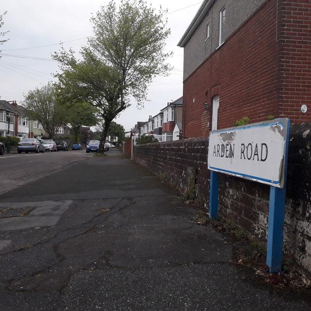 Moordown: Arden Road