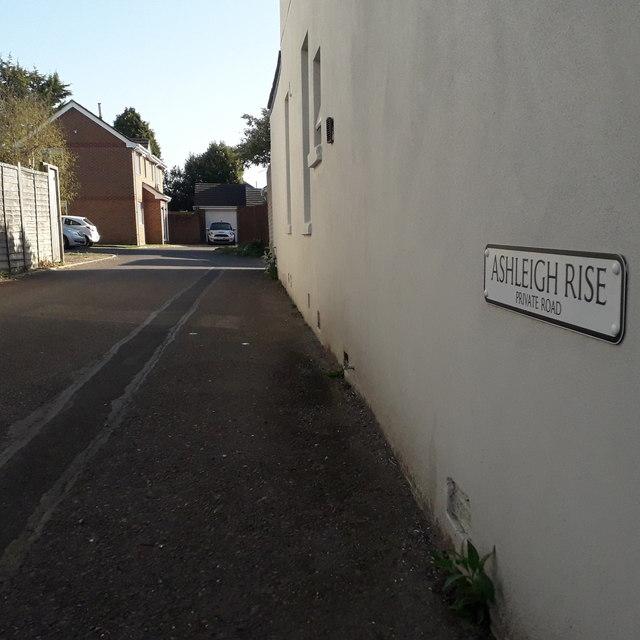 Ensbury Park: Ashleigh Rise