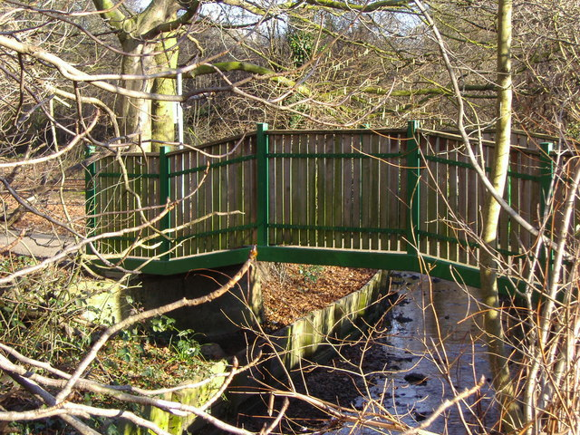 Bridge across Mutton Brook