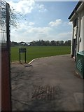 SX9392 : Exeter School playing fields viewed from Barrack Road by David Smith