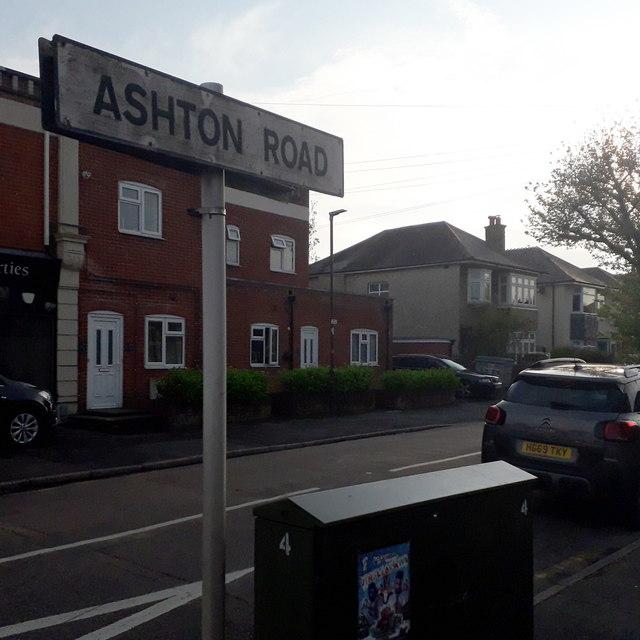 Moordown: Ashton Road