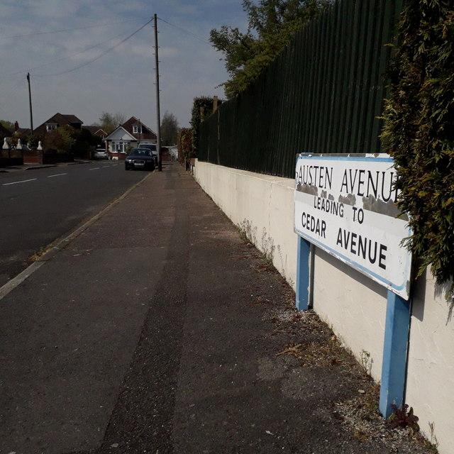 Northbourne: Austen Avenue