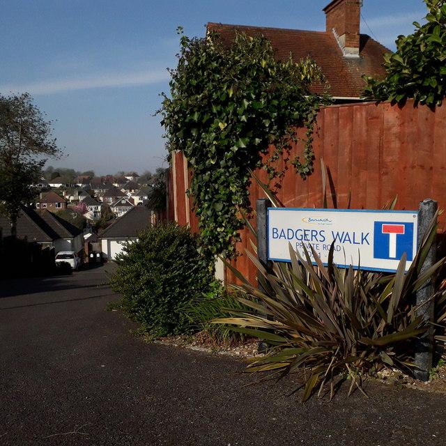Northbourne: Badgers Walk