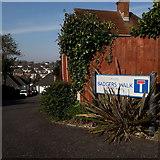 SZ0795 : Northbourne: Badgers Walk by Chris Downer