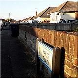 SZ0596 : Bear Cross: Baker Road by Chris Downer