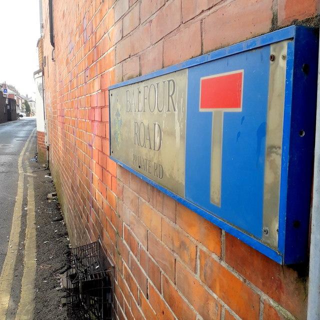 Moordown: Balfour Road