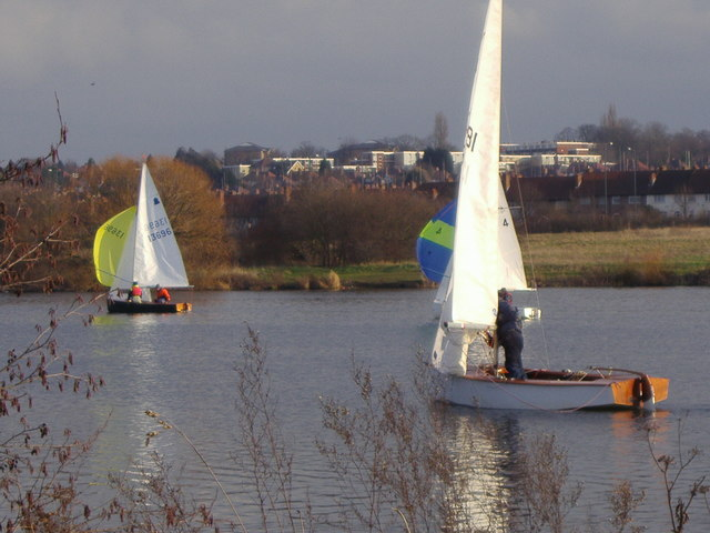 Yachting on the Welsh Harp Reservoir