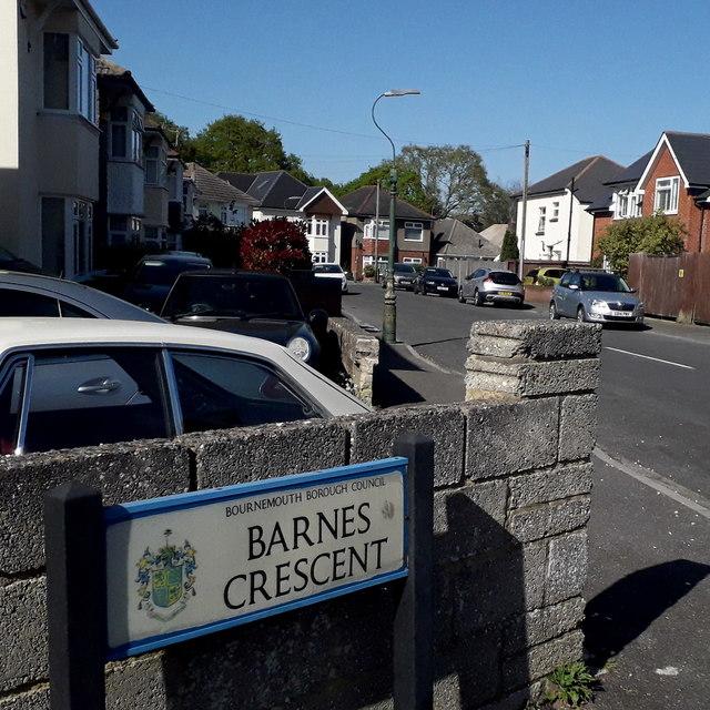 Ensbury Park: Barnes Crescent