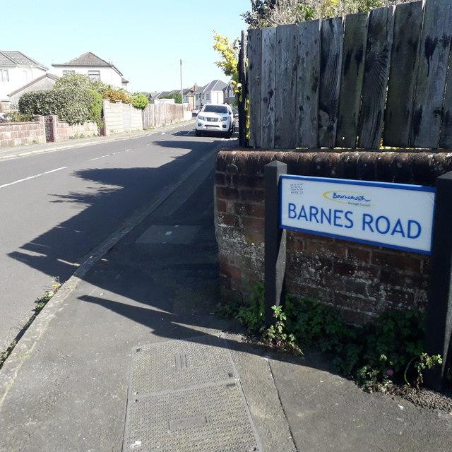 Ensbury Park: Barnes Road