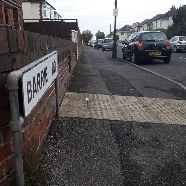 Moordown: Barrie Road