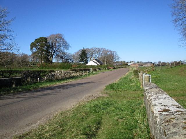 Burn Cottage and Holeburn Bridge