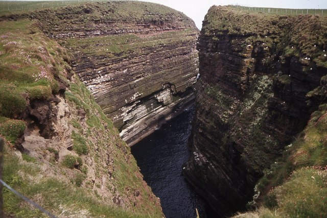 Geo of Sclaites, Duncansby Head