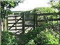 NZ3270 : Kissing Gate at North Farm, Murton by Geoff Holland