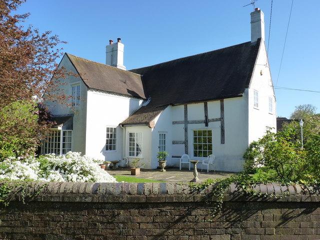 Kemberton Hall farmhouse