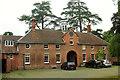 SO5476 : Stables, Henley Hall by Derek Harper