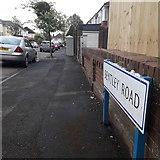 SZ0895 : Moordown: Bentley Road by Chris Downer