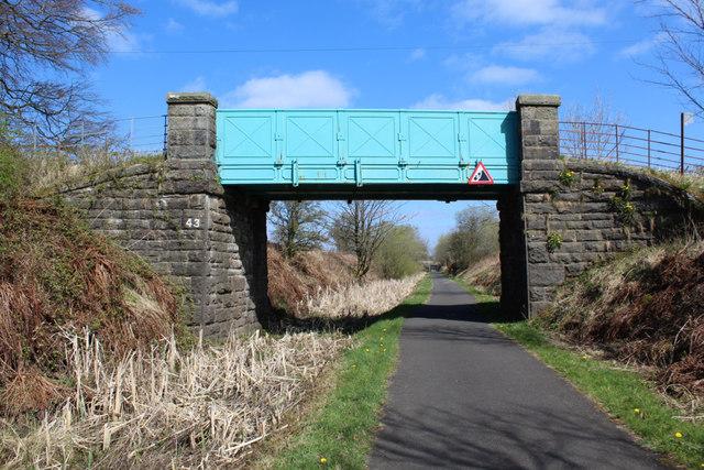 Lochwinnoch Loop Line cycle path