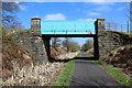 NS3356 : Lochwinnoch Loop Line cycle path by Thomas Nugent