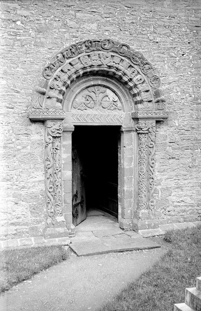 Church of St Mary and St David, Kilpeck, 1961 – 1