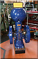 SJ8333 : Mill Meece Pumping Station - Petter Universal Oil Engine by Chris Allen