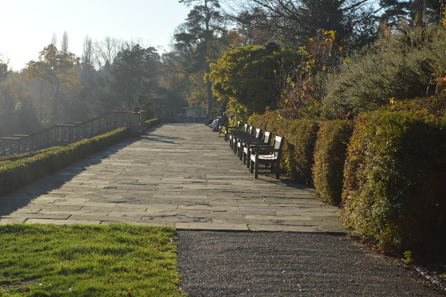 Terrace of Former Dunorlan House by N Chadwick