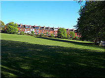 SE2636 : Open space opposite Kirkstall Abbey by Stephen Craven