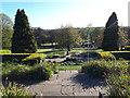 SE2636 : Terraces below the walled garden, Kirkstall Abbey by Stephen Craven