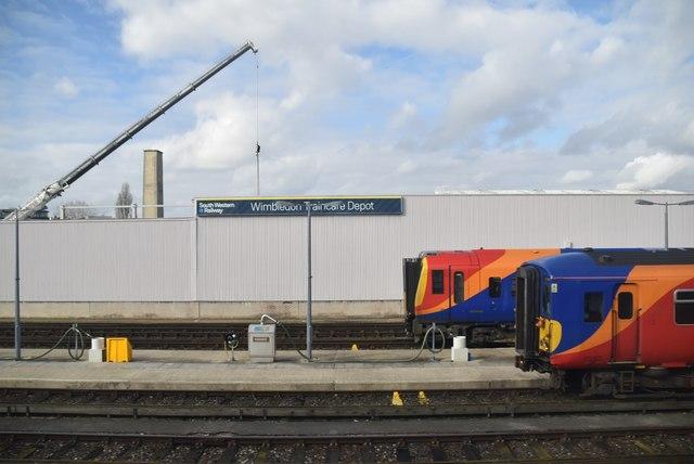 Wimbledon Traincare Depot