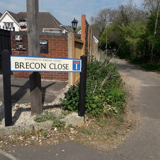 Northbourne: Brecon Close